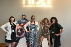 Superheroines of Fragile X Research!