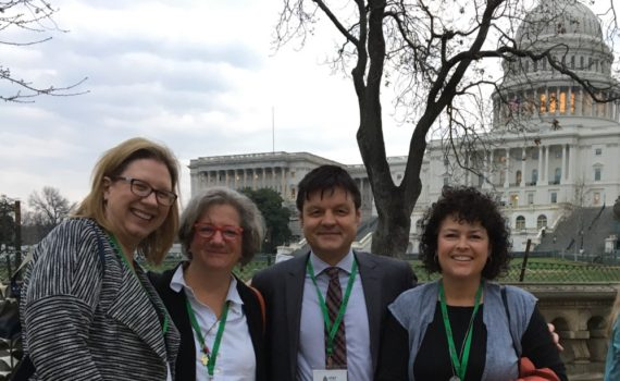 Dr. Roberts in Washington DC for National Fragile X Syndrome Advocacy Day