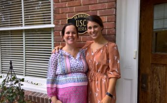 NDD Lab doctoral students Sara Matherly and Kelly Caravella White