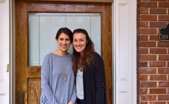 Kelly Caravella and Jordan Ezell