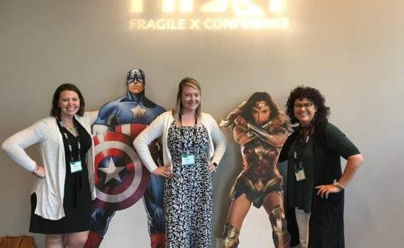 NDD Lab at the National Fragile X Conference