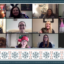 Zoom screenshot of the NDD Lab virtual holiday party